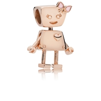 ROBOT BELLA 787141EN160 CHARMS ROSE